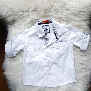 Mayoral Baby Boy Button down shirt Sz 24 Months